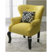 Small yellow funky arm chair XYD449