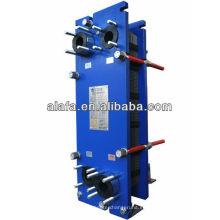 A2B junta placa intercambiador de calor para el aceite, profesional de la fabricación para intercambiador de calor