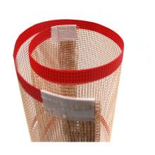 Correia de malha de PTFE antiaderente correia de secagem de alimentos