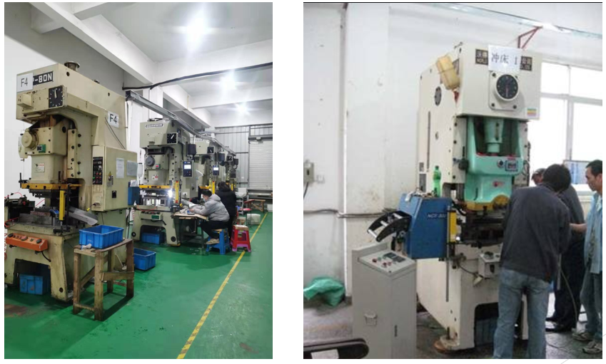 stamping dies production press