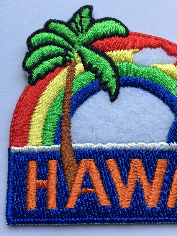 Patches Embroidery Rainbow