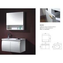 Armário moderno novo da vaidade do banheiro com espelho
