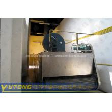 Machine de processus de séchage de fruit / sécheuse à bande de maille