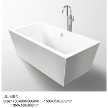 Bañera de acrílico independiente de 1500 mm