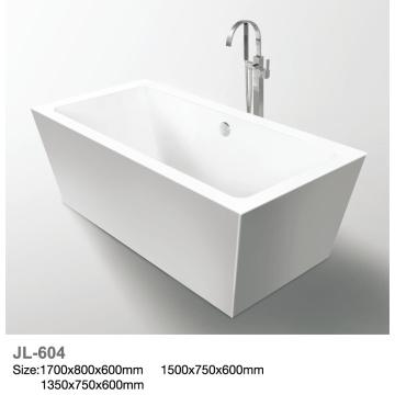 Bañera de hidromasaje independiente con Materail acrílico