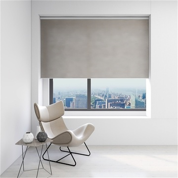 Ventana eléctrica Honeycomb Cellular Shadings
