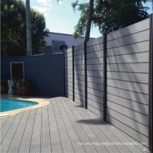 Waterproof Resistant UV Stable Wholesale 1.8X1.8m Private or Public Composite Wood WPC Fencing
