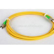 China Factory FC APC single mode sm 9/125 cordon de connexion optique à fibre optique / jumper