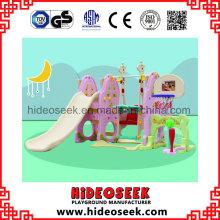 Indoor Plastic Slide und Swing Sets mit Fußball für Kleinkind
