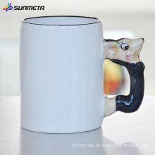 Sublimation Tier leere Becher Maus