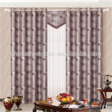 Traitements de fenêtre en tissu double couche de grande taille