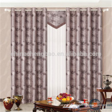 Large size double layer fabric window treatments