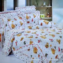 Tissu rayé en coton à rayures avec motif africain similaire en impression réactive