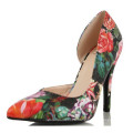 New Design High Heel Pointed Toe Lady Shoes (S15)