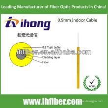 Câble fibre optique intérieur de 0,9 mm