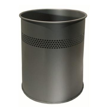 Office Steel Dust Bin Lixeira 15L Lixeira interna