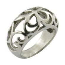 Hollow-out anel de moda feminina jóias
