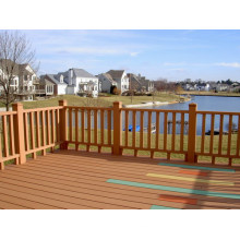 WPC Railing and Fencing with CE & Fsc Approved