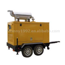 Trailer Generators with soundproof canopy