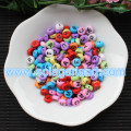 Acrylic Round Mix Alphabet Beads, A to Z Letter Beads 4*7MM