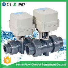 D25 PVC PVC Toilette éteint la vanne à bille électrique Vente en gros