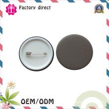 China emblema personalizado profissional do botão do folha-de-flandres do logotipo do metal