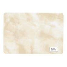 Melhor venda UV revestimento mármore a folha do PVC para a parede e teto