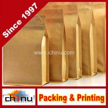Natural Kraft Foil Stand up Zip Pouch (220102)