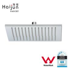 Haijun Products China Wall Mounted Water Saving Square Shape Rain Shower Head