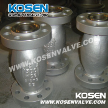 Cast Steel Axial-Flow Type Valve
