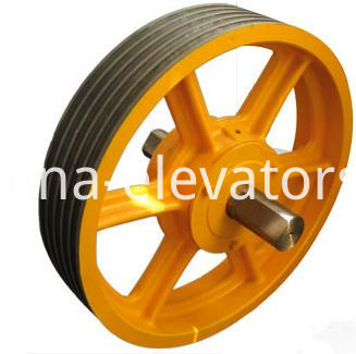 Elevator Suspension Pulley