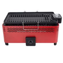 Barbecue électrique et gril au charbon 2 en 1