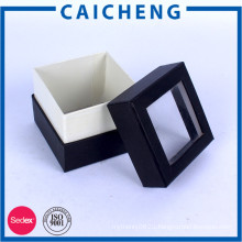 Custom Small Packing Gift Paper Boxes With Clear Window