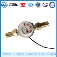 Contadores de 5 dígitos Medidor de água de jato Singe com saída de pulso