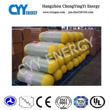 CNG-1 Seamless Steel Cylinder for Vehicles