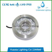 Fuente de luz LED IP68 bajo el agua para fuente