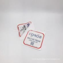 Venda quente personalizado filme eletrostática janela adesivos carro adesivo de vinil