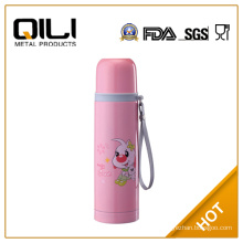 Stainless steel double wall thermos flask