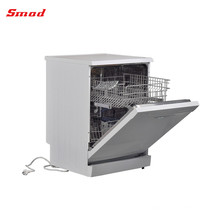 Mini lave-vaisselle autoportant en acier inoxydable à économie d'énergie