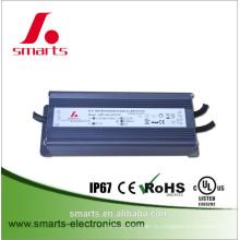 0/1-10В затемнения 72Вт цилиндр 2400ma постоянного тока светодиодный драйвер с UL CE и RoHS