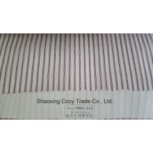 New Popular Project Stripe Organza Voile Sheer Curtain Fabric 0082111