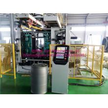 Machine de moulage par soufflage en plastique 200L pour baril chimique