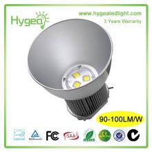 Luzes industriais do elevado desempenho 150w ao ar livre levou a luz elevada da baía, conduziu a lâmpada elevada do louro, a luz conduzida grande da baía