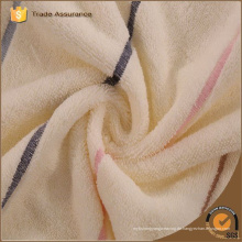 China Großhandel Plüsch Mikrofaser gedruckt Streifen Handtücher
