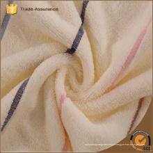 China Wholesale microfibra de pelúcia impresso toalhas listra