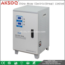 AKSDQ Wholesale SVC 10000VA Single Phase Automatic Home Voltage Stabilizer Regulator Wenzhou Yueqing Factory