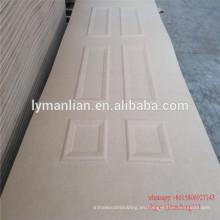 Tablero de la puerta de madera natural decorativa puerta puerta mdf