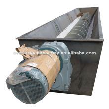 Fertilizer auger screw conveyor