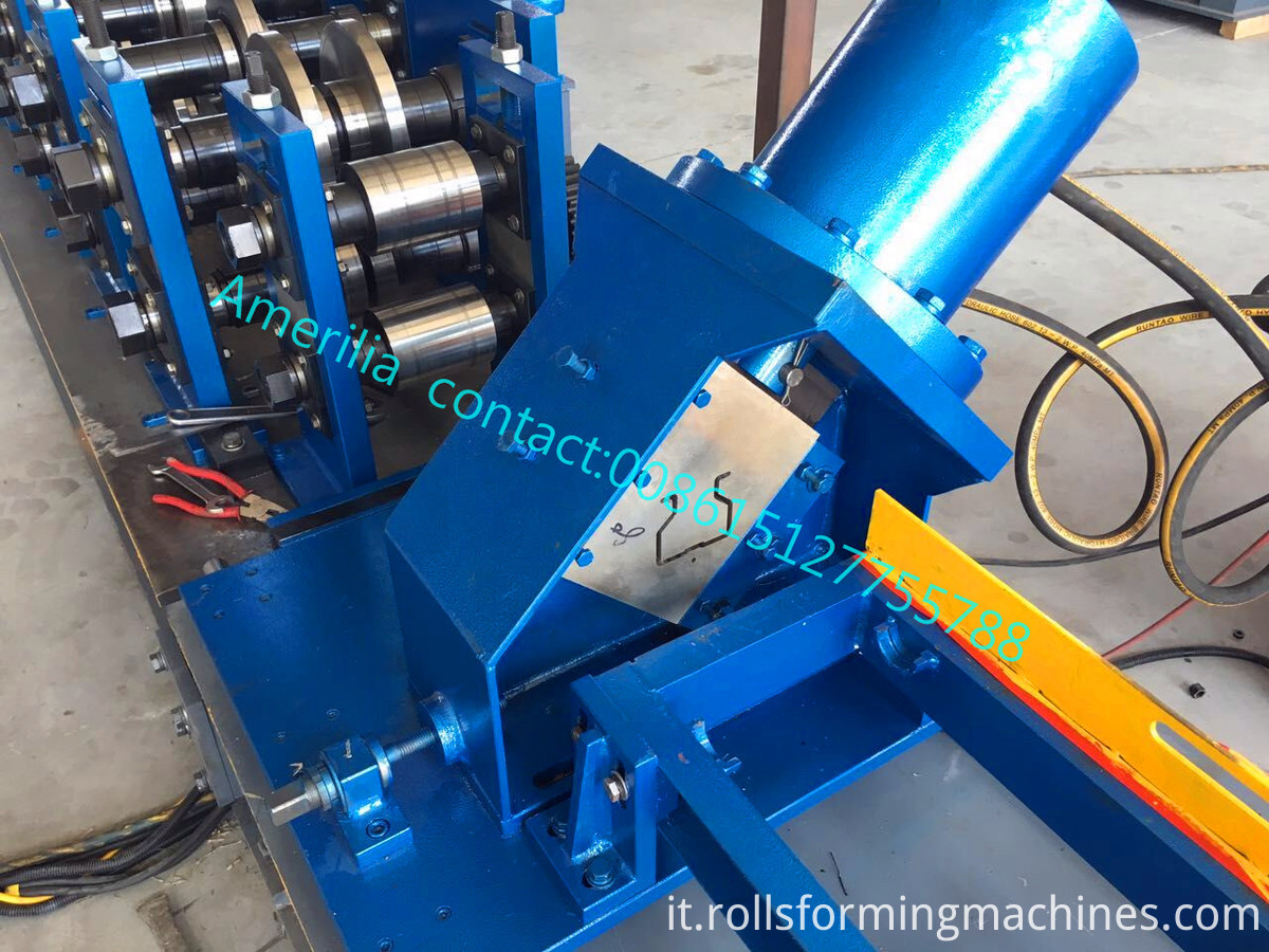 Rack Shelf Making Machine