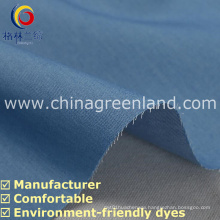 100%Cotton Denim Yarn Dyed Fabric for Fashion Shirt Garment (GLLML225)